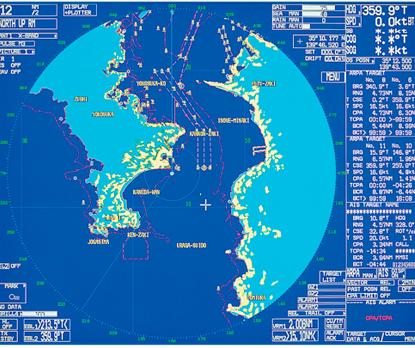 Furuno FAR-21x7 Marine Radar Targetdetection