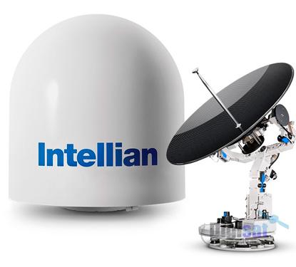Intellian V100 Ku-band maritime stabilized antenna