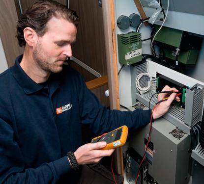 On Demand Service technician at work