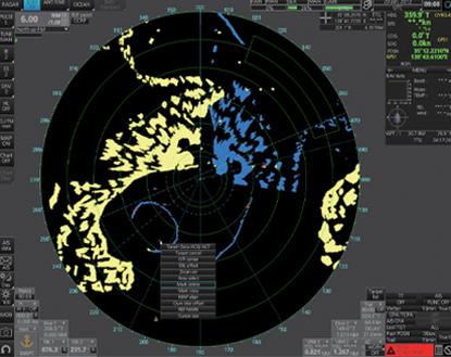 Furuno Voyager Radar