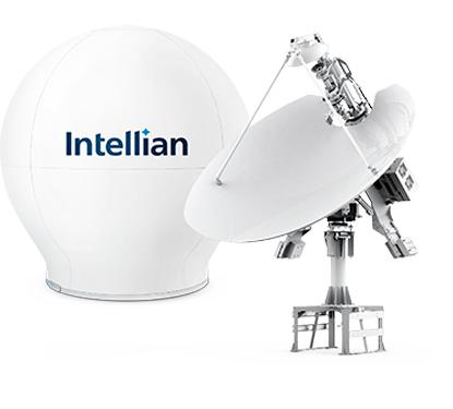 Intellian v240M - 2.4m Dual-band Multi-orbit VSAT Antenna System