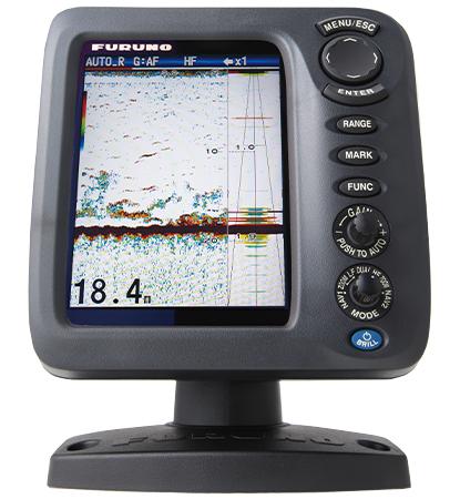 """FCV-628 5.7"""" Color LCD Fish Finder"""