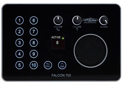Radio Zeeland Falcon Intercom