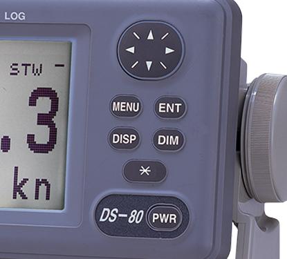 Furuno DS-80 Controls