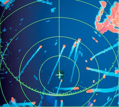 Furuno FR-8065 12.1″ Color LCD Marine Radar True Trails