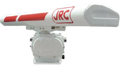 JRC 8ft solid-state scanner unit