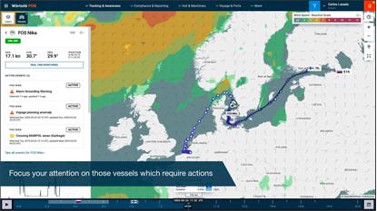 Wärtsilä Fleet Operations Centre - Ship Attention module