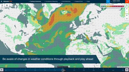 Wärtsilä Fleet Operations Centre - Weather module