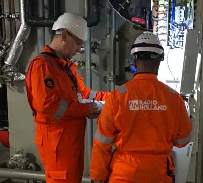 Radio Holland Installation Engineers