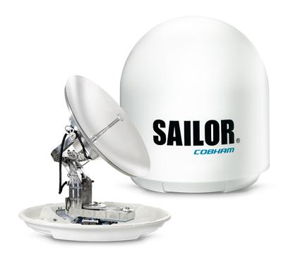 SAILOR 1000 XTR Ku Antenna with Dome