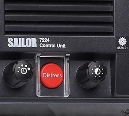 Detail of the SAILOR 7222 VHF/DSC